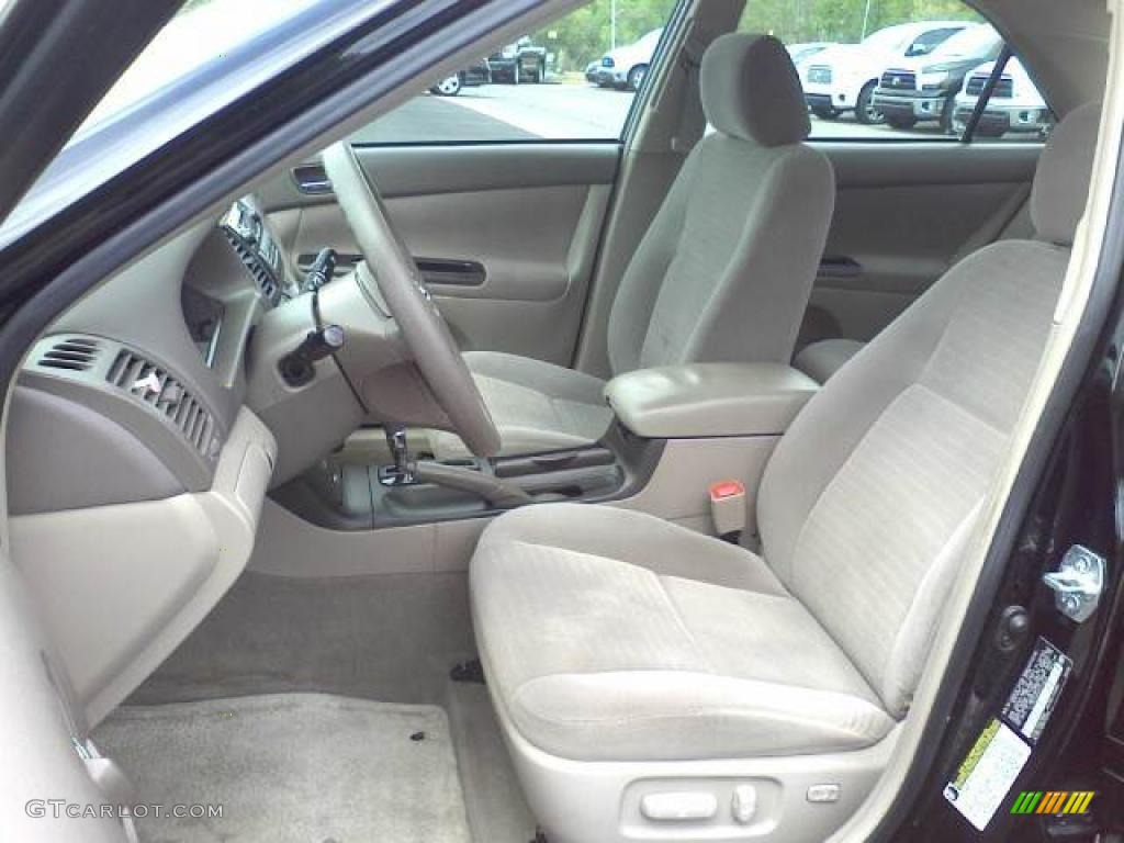 taupe interior 2006 toyota camry le photo 48181583. Black Bedroom Furniture Sets. Home Design Ideas