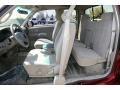 2002 Toyota Tundra Gray Interior Interior Photo