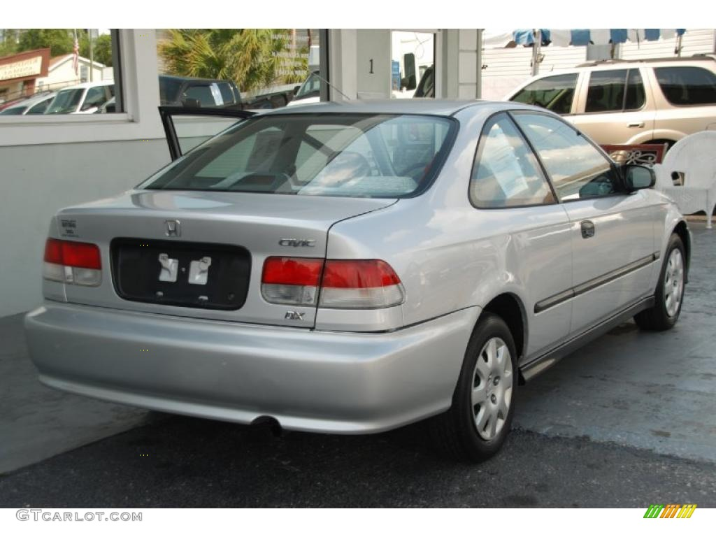 Vogue Silver Metallic 1999 Honda Civic DX Coupe Exterior Photo #48190273