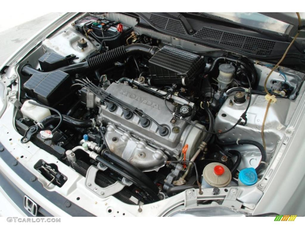 1999 Honda Civic DX Coupe 1.6 Liter SOHC 16V VTEC 4 Cylinder Engine Photo #48190489 | GTCarLot.com