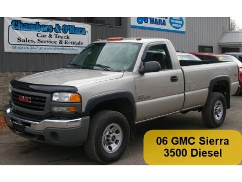 2006 gmc sierra 3500 sl regular cab 4x4 data info and. Black Bedroom Furniture Sets. Home Design Ideas