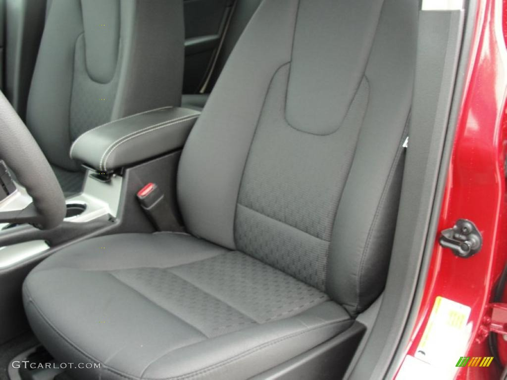 2011 Fusion SE - Red Candy Metallic / Charcoal Black photo #24