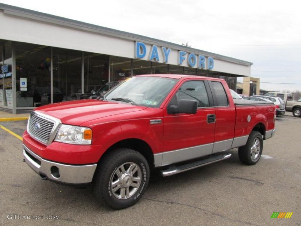 2006 bright red ford f150 xlt supercab 4x4 48193939 gtcarlot com car color galleries