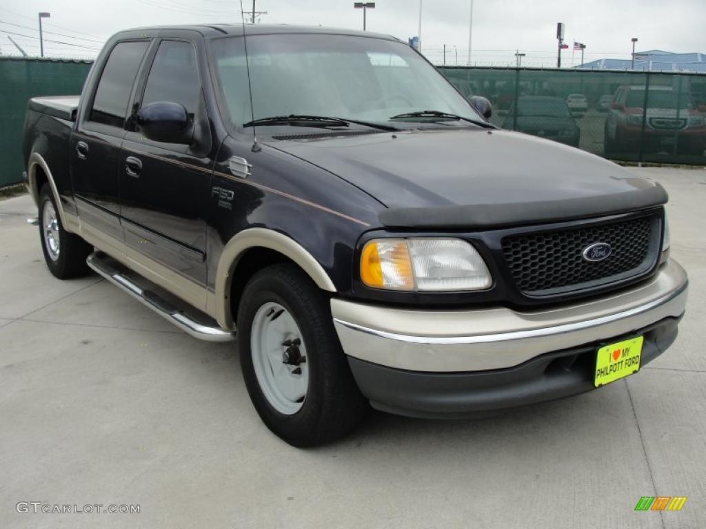 2001 Black Ford F150 Lariat SuperCrew 48194054 Car Color Ga