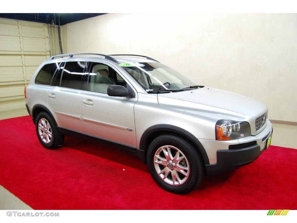 2006 silver metallic volvo xc90 v8 awd 48193960. Black Bedroom Furniture Sets. Home Design Ideas