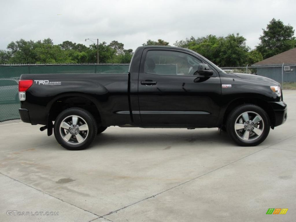 black 2010 toyota tundra trd sport regular cab exterior photo 48206884. Black Bedroom Furniture Sets. Home Design Ideas