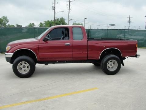 1995 toyota tacoma extended cab 4x4 data info and specs. Black Bedroom Furniture Sets. Home Design Ideas