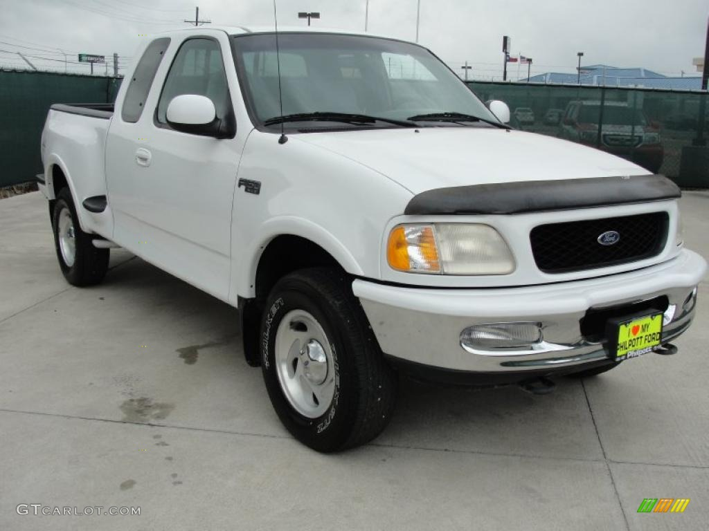 1997 oxford white ford f150 xlt extended cab 4x4 48194064. Black Bedroom Furniture Sets. Home Design Ideas