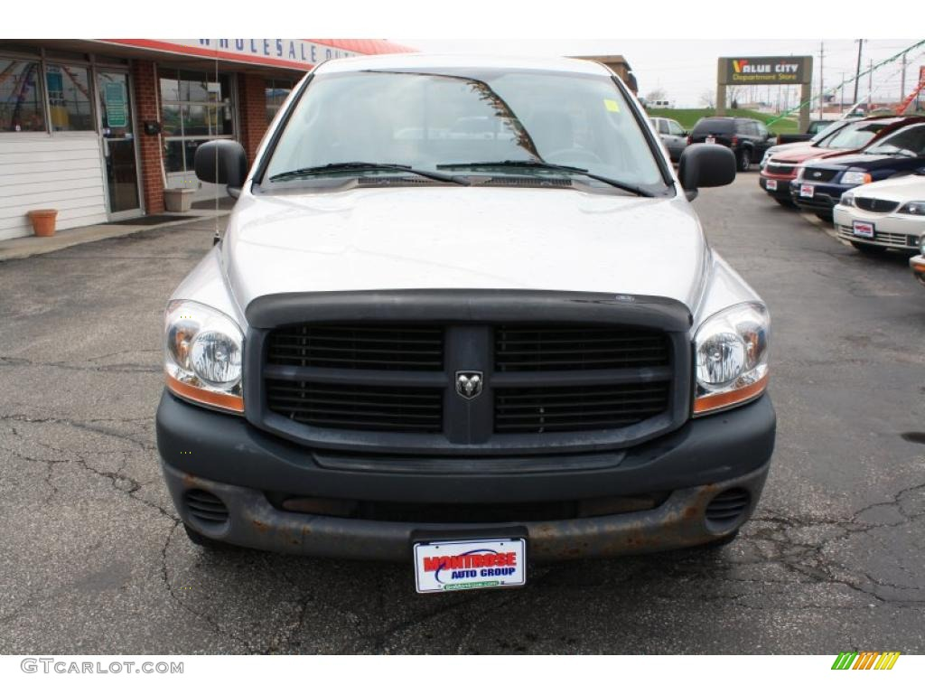 2006 Ram 1500 ST Regular Cab - Bright Silver Metallic / Medium Slate Gray photo #1
