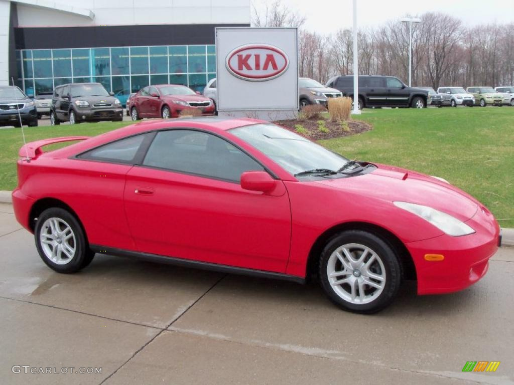 2001 absolutely red toyota celica gt 48194244 gtcarlot. Black Bedroom Furniture Sets. Home Design Ideas