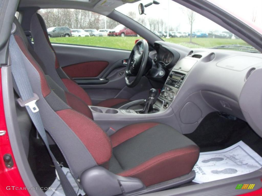 Black red interior 2001 toyota celica gt photo 48226238 for Toyota celica interior