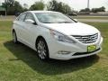 Front 3/4 View of 2011 Sonata Limited 2.0T