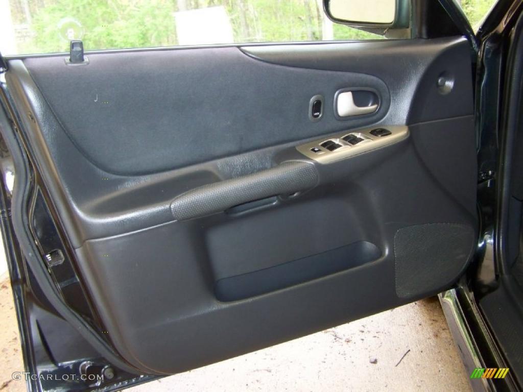 on 2002 Mazda Protege 5 Wagon Interior