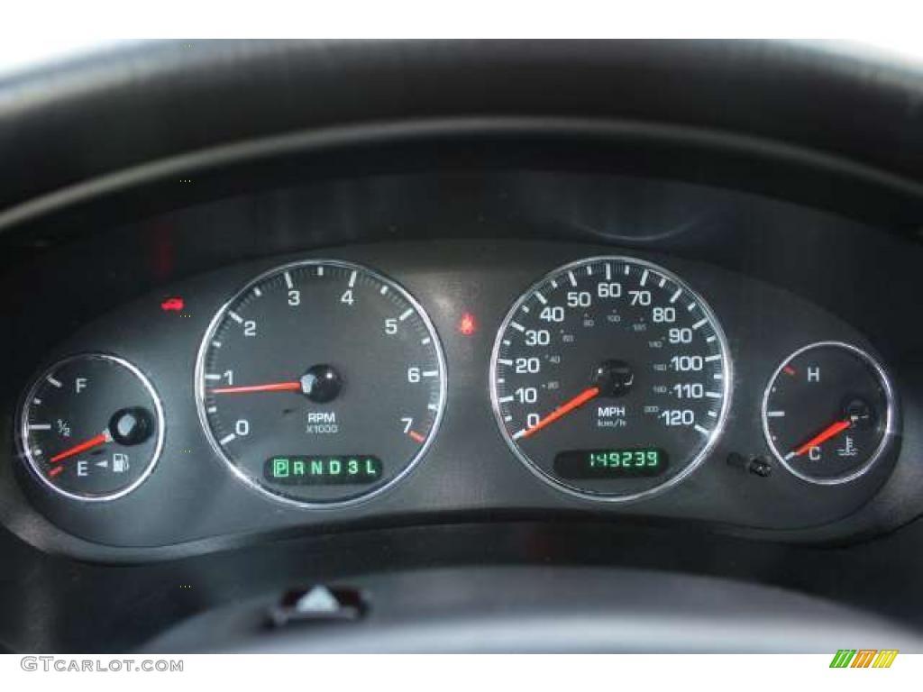 2000 Chrysler Concorde Lxi Gauges Photo 48237915