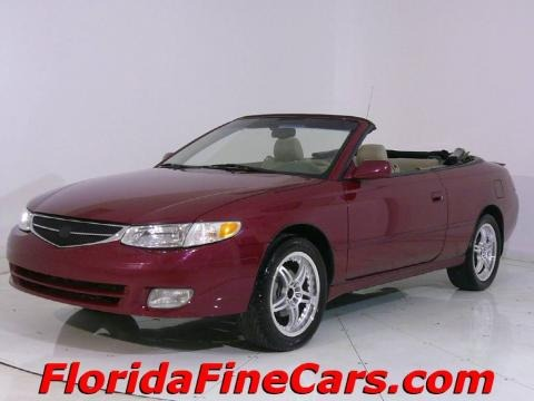 2000 toyota solara se convertible data info and specs. Black Bedroom Furniture Sets. Home Design Ideas