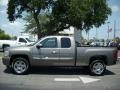 2011 Mocha Steel Metallic Chevrolet Silverado 1500 LT Extended Cab  photo #3