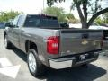 2011 Mocha Steel Metallic Chevrolet Silverado 1500 LT Extended Cab  photo #4