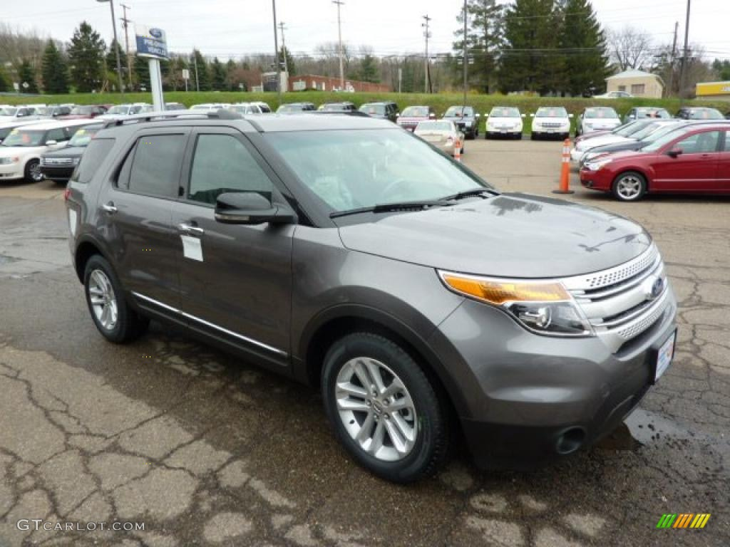 Sterling Grey Metallic 2011 Ford Explorer XLT Exterior Photo #48253413