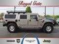 Metallic Pewter 2001 Hummer H1 Wagon