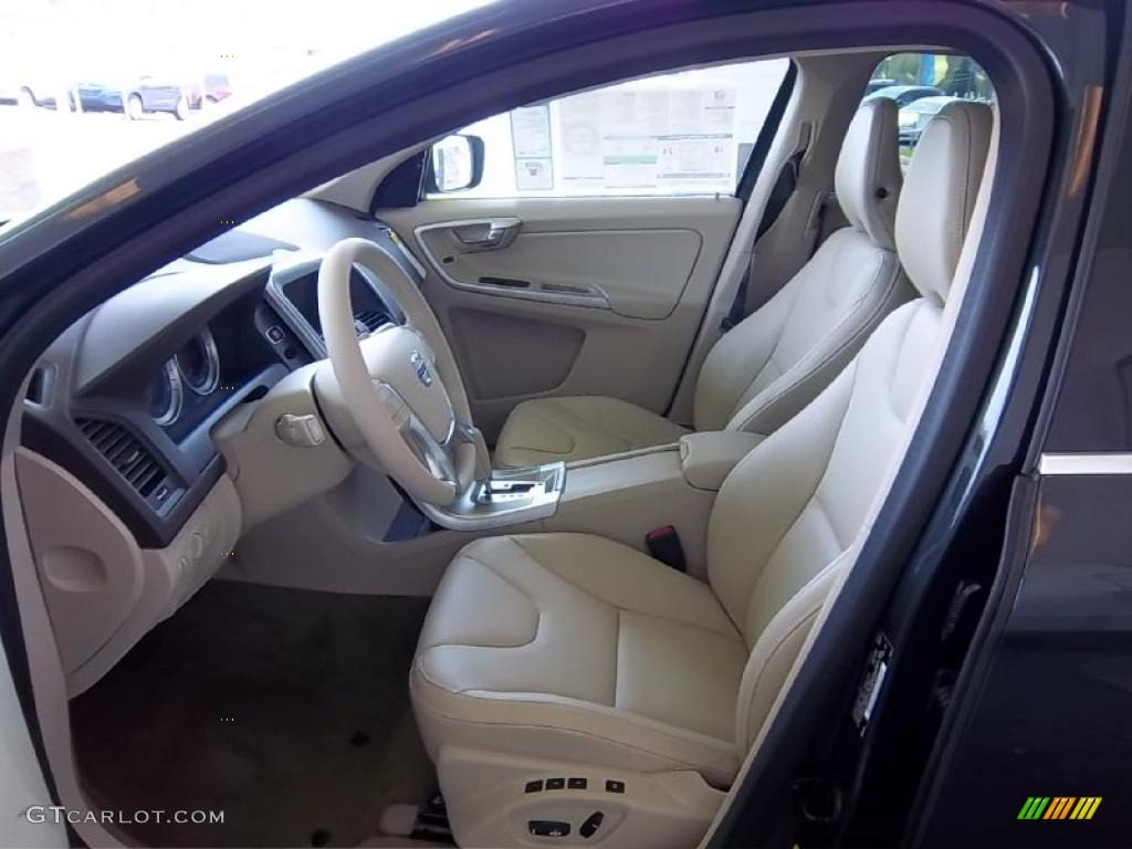 Sandstone Beige Interior 2011 Volvo Xc60 3 2 Awd Photo 48262701