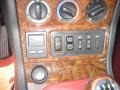2000 BMW Z3 Tanin Red Interior Controls Photo