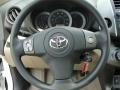 Sand Beige Steering Wheel Photo for 2011 Toyota RAV4 #48275437