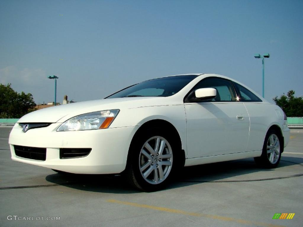 taffeta white 2005 honda accord ex v6 coupe exterior photo 48276169. Black Bedroom Furniture Sets. Home Design Ideas