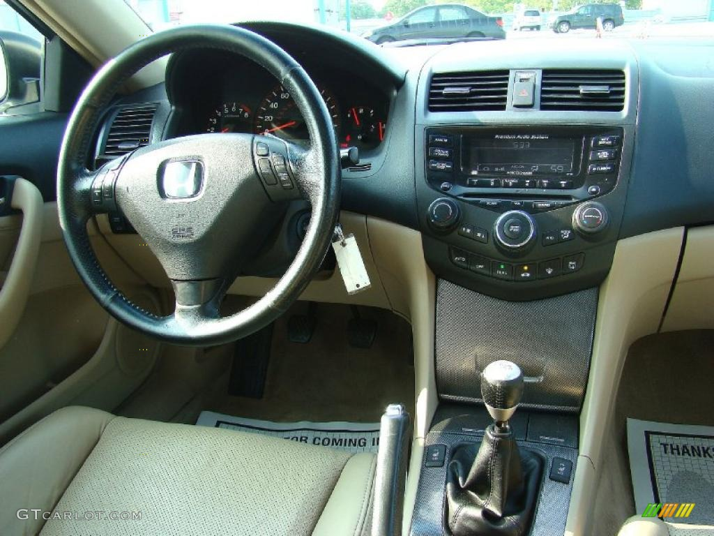 2005 Honda Accord Ex V6 Coupe Ivory Dashboard Photo 48276760 Gtcarlot Com