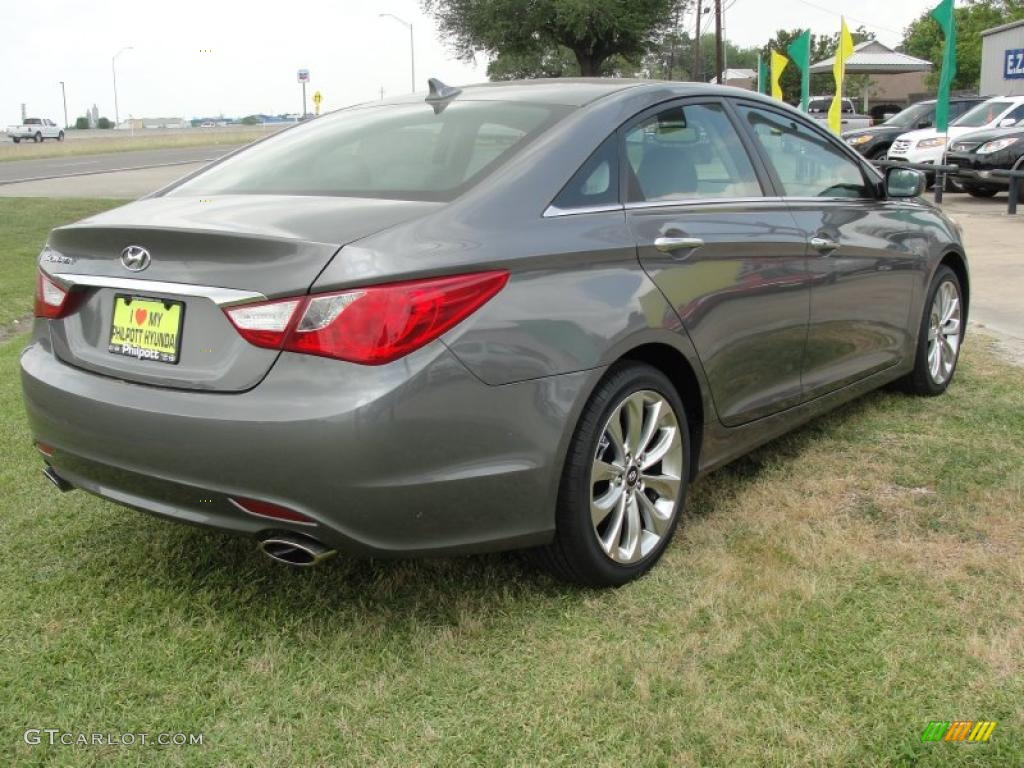Harbor Gray Metallic 2011 Hyundai Sonata Se Exterior Photo 48277252 Gtcarlot Com