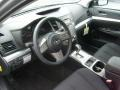 Off-Black 2011 Subaru Legacy Interiors