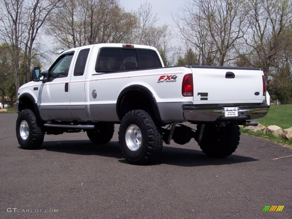 oxford white 2002 ford f250 super duty xlt supercab 4x4 exterior photo 48293152. Black Bedroom Furniture Sets. Home Design Ideas