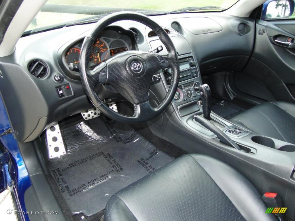 Black Interior 2005 Toyota Celica Gt S Photo 48295165