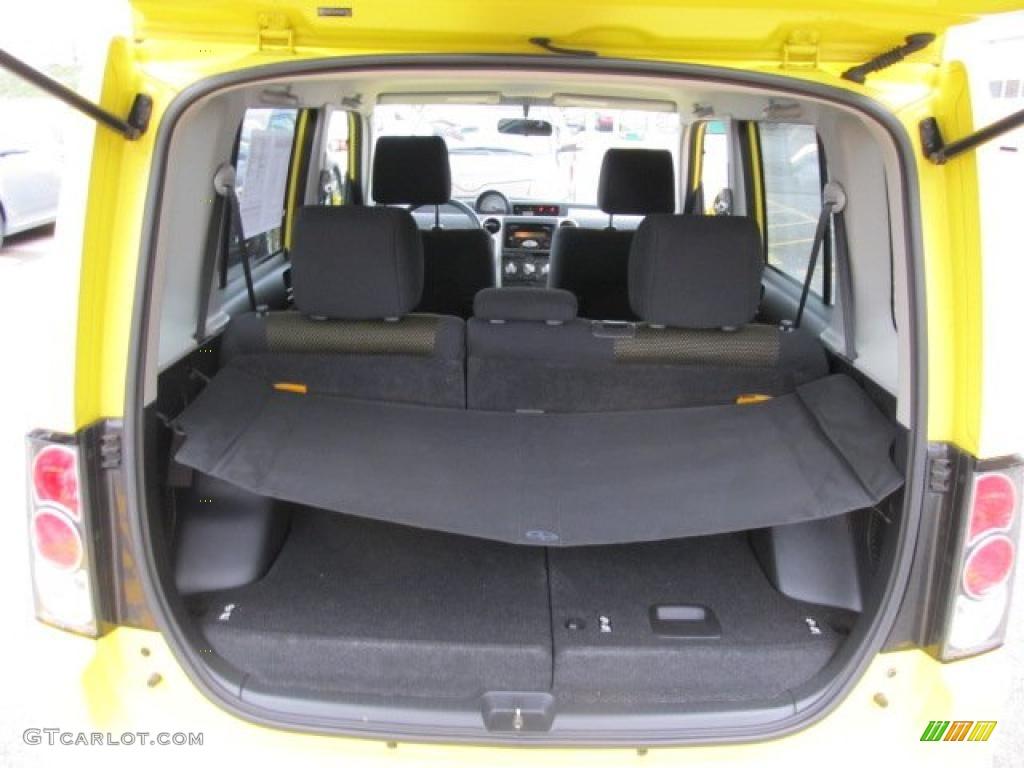 Black/Yellow Interior 2005 Scion XB Release Series 2.0 Photo #48295879