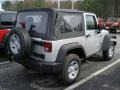 2011 Bright Silver Metallic Jeep Wrangler Sport 4x4  photo #2