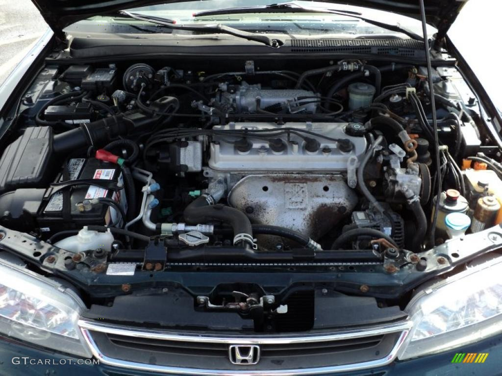 1997 Honda Accord Ex Sedan 2 2 Liter Sohc 16 Valve Vtec 4 Cylinder Engine Photo 48299554