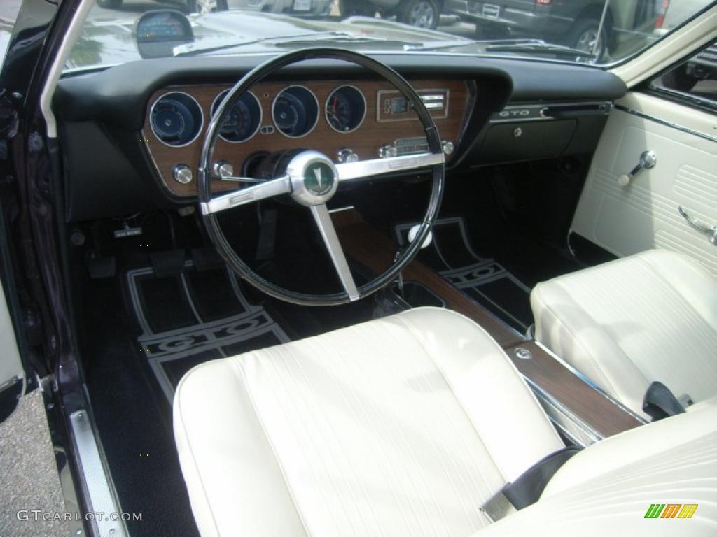 Parchment Interior 1967 Pontiac Gto 2 Door Sport Coupe Photo 48302812 Gtcarlot Com