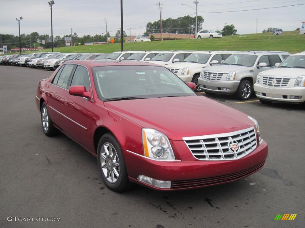 2011 crystal red tintcoat cadillac dts luxury 48268687. Black Bedroom Furniture Sets. Home Design Ideas