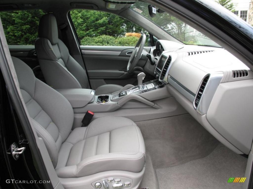Platinum Grey Interior 2011 Porsche Cayenne Turbo Photo 48312706 Gtcarlot Com