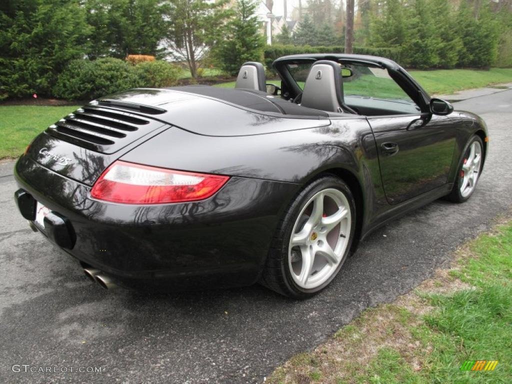 black 2006 porsche 911 carrera 4s cabriolet exterior photo. Black Bedroom Furniture Sets. Home Design Ideas