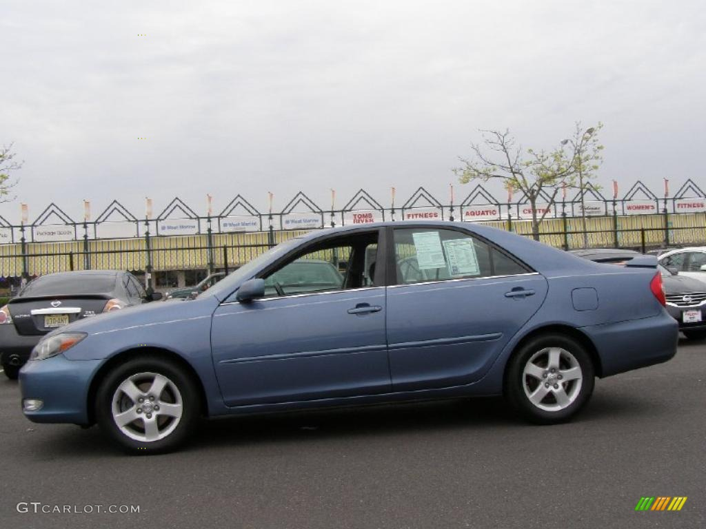 catalina blue metallic 2004 toyota camry se v6 exterior photo 48315872. Black Bedroom Furniture Sets. Home Design Ideas
