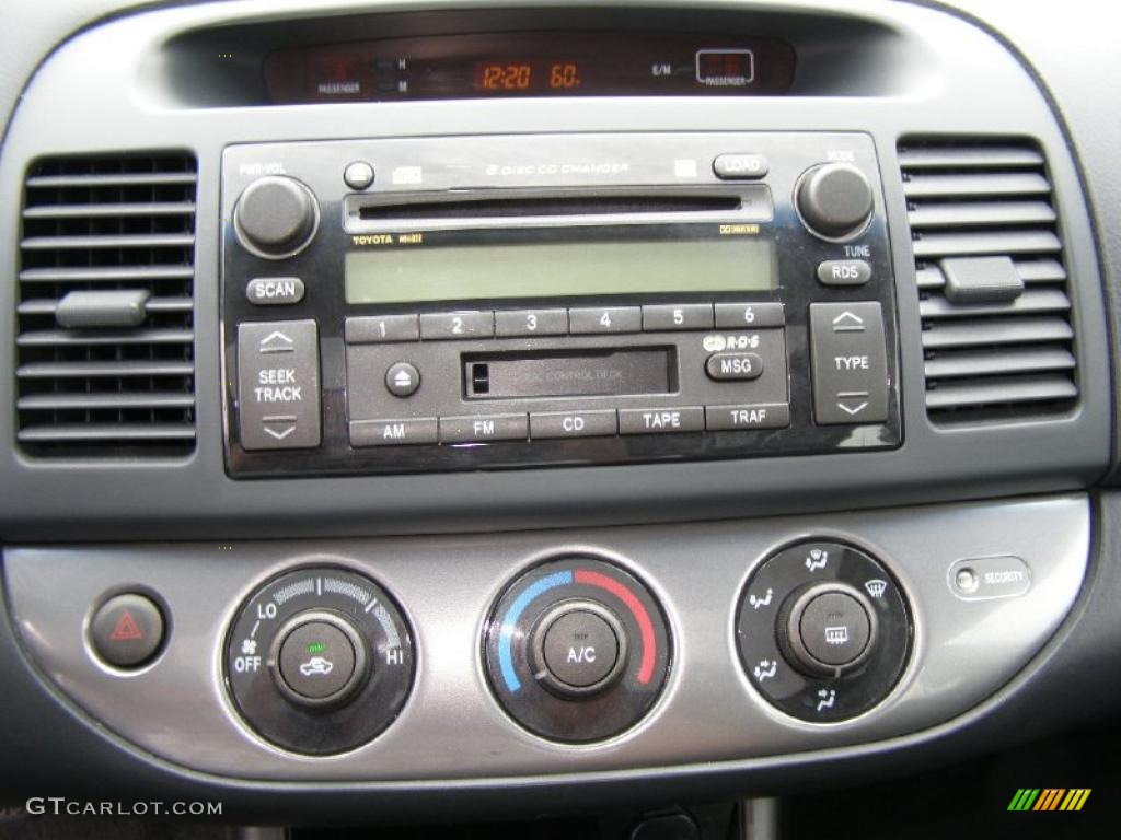 2004 toyota camry se v6 controls photo 48316006. Black Bedroom Furniture Sets. Home Design Ideas