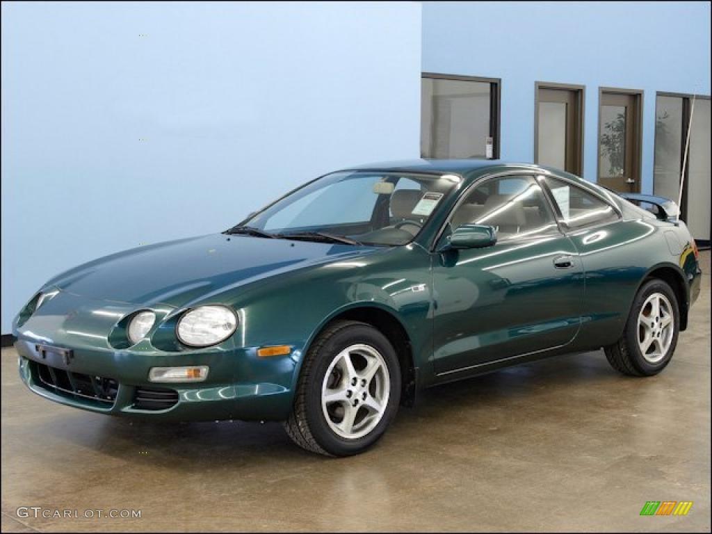 Jewel green metallic 1997 toyota celica st coupe exterior photo 48317506