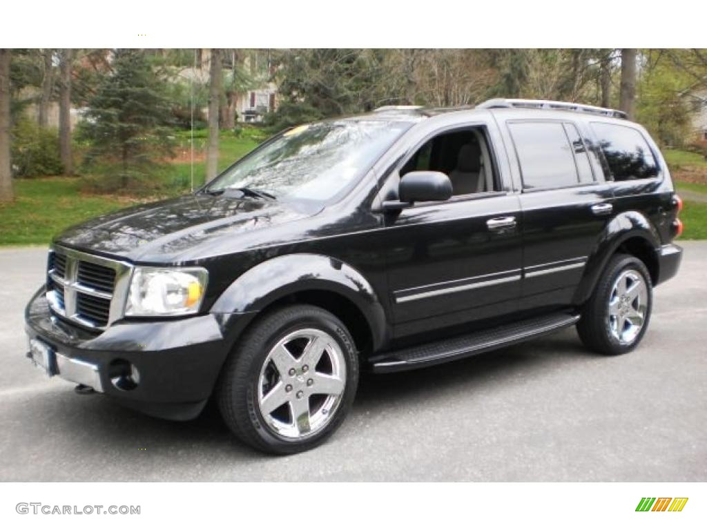 Brilliant Black Dodge Durango