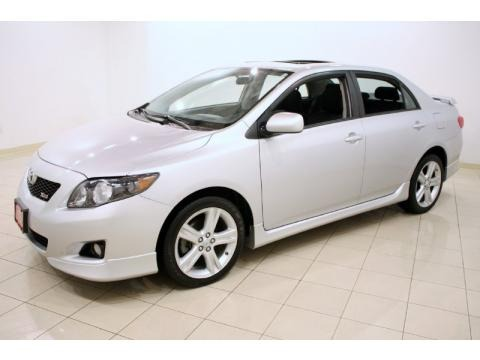 2009 toyota corolla xrs data info and specs. Black Bedroom Furniture Sets. Home Design Ideas