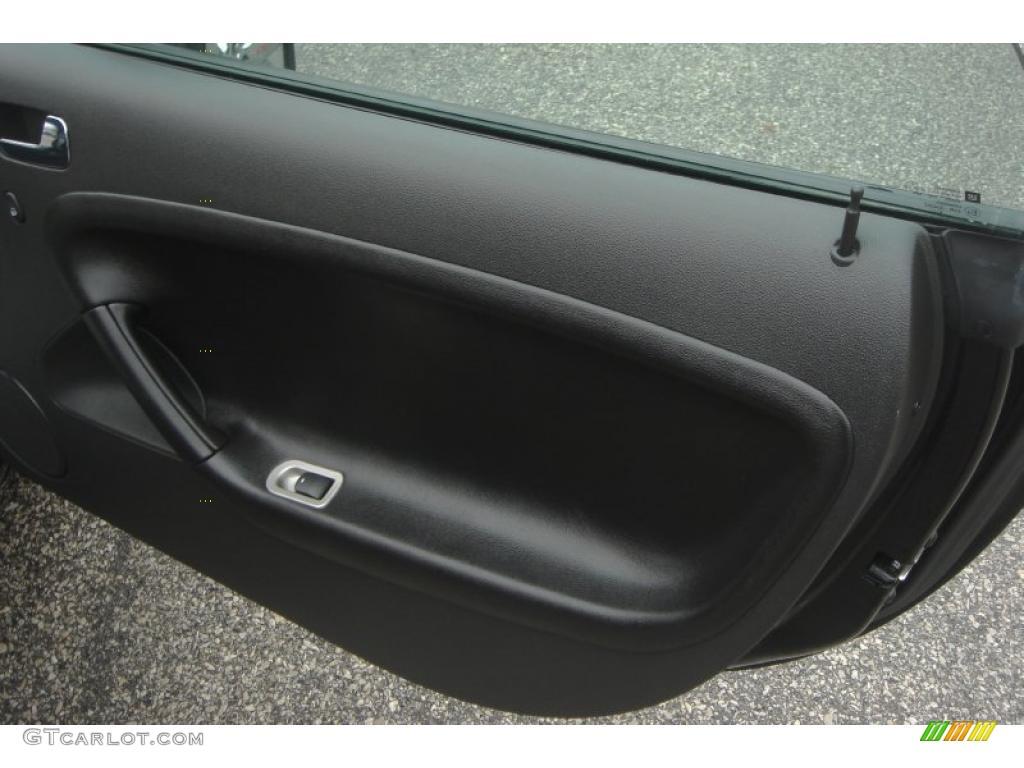 2007 Pontiac Solstice Gxp Roadster Ebony Door Panel Photo 48324695
