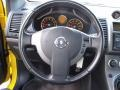2007 Nissan Sentra SE-R Charcoal Interior Steering Wheel Photo