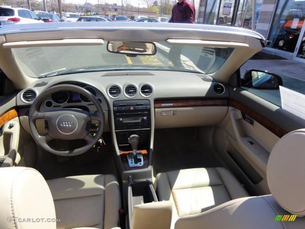 2005 Audi A4 3 0 Quattro Cabriolet Interior Photo