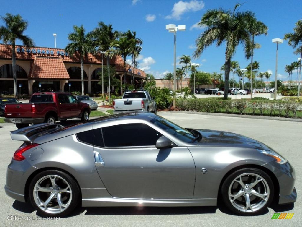 platinum graphite 2010 nissan 370z nismo coupe exterior. Black Bedroom Furniture Sets. Home Design Ideas
