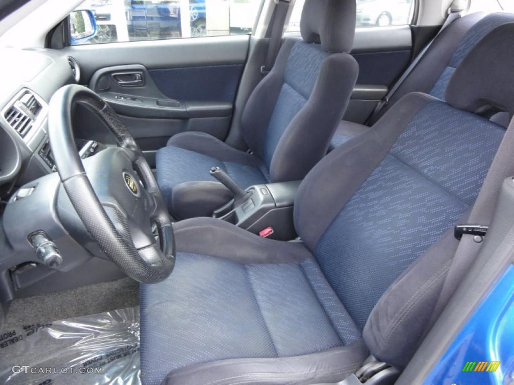 2002 Subaru Impreza Wrx Sedan Interior Photo 48333547