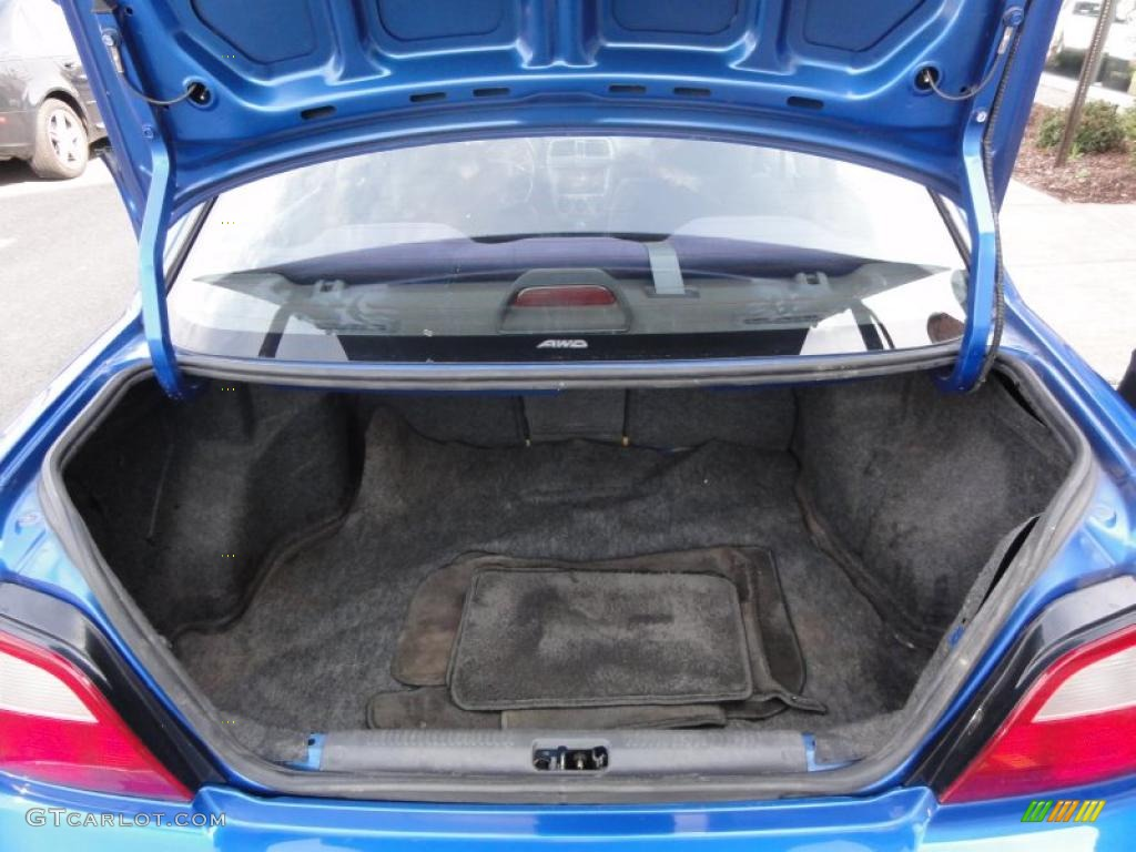 2002 Subaru Impreza Wrx Sedan Trunk Photo 48333718